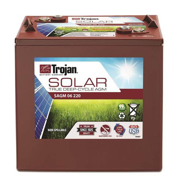 Trojan Trojan Battery Introduces Solar AGM Line Of Batteries