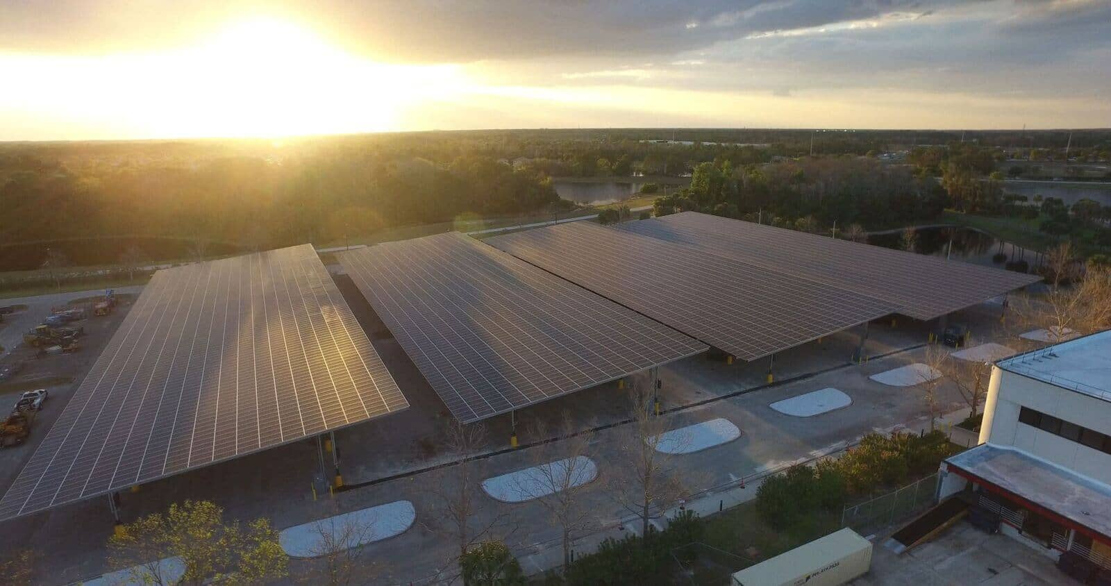 lockheed Lockheed Martin Adds Another Massive Solar Carport In Florida