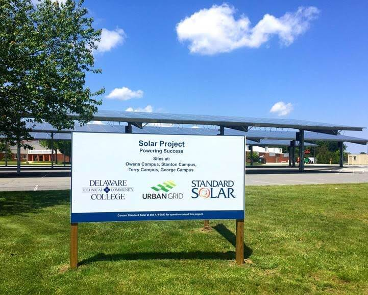 Delaware Community College Boosts Sustainability With 2.1 MW Solar Project
