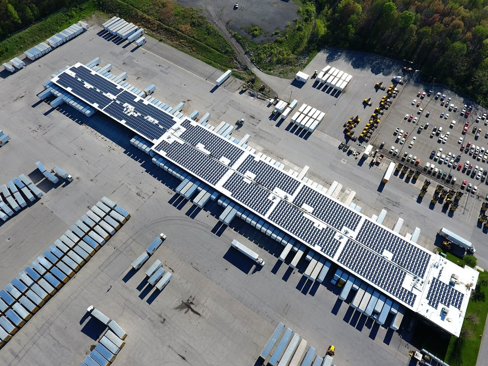 Estes Trucking Company Adds Rooftop Solar At Pa. Terminal