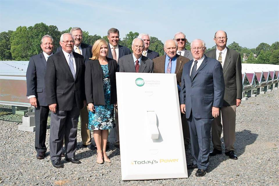 FIRST-ELECTRIC-COOPERATIVE First Electric Cooperative Flips The Switch On 1 MW Solar Project