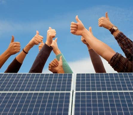 community-solar-1 EPE's Popular Community Solar Pilot Project Goes Online