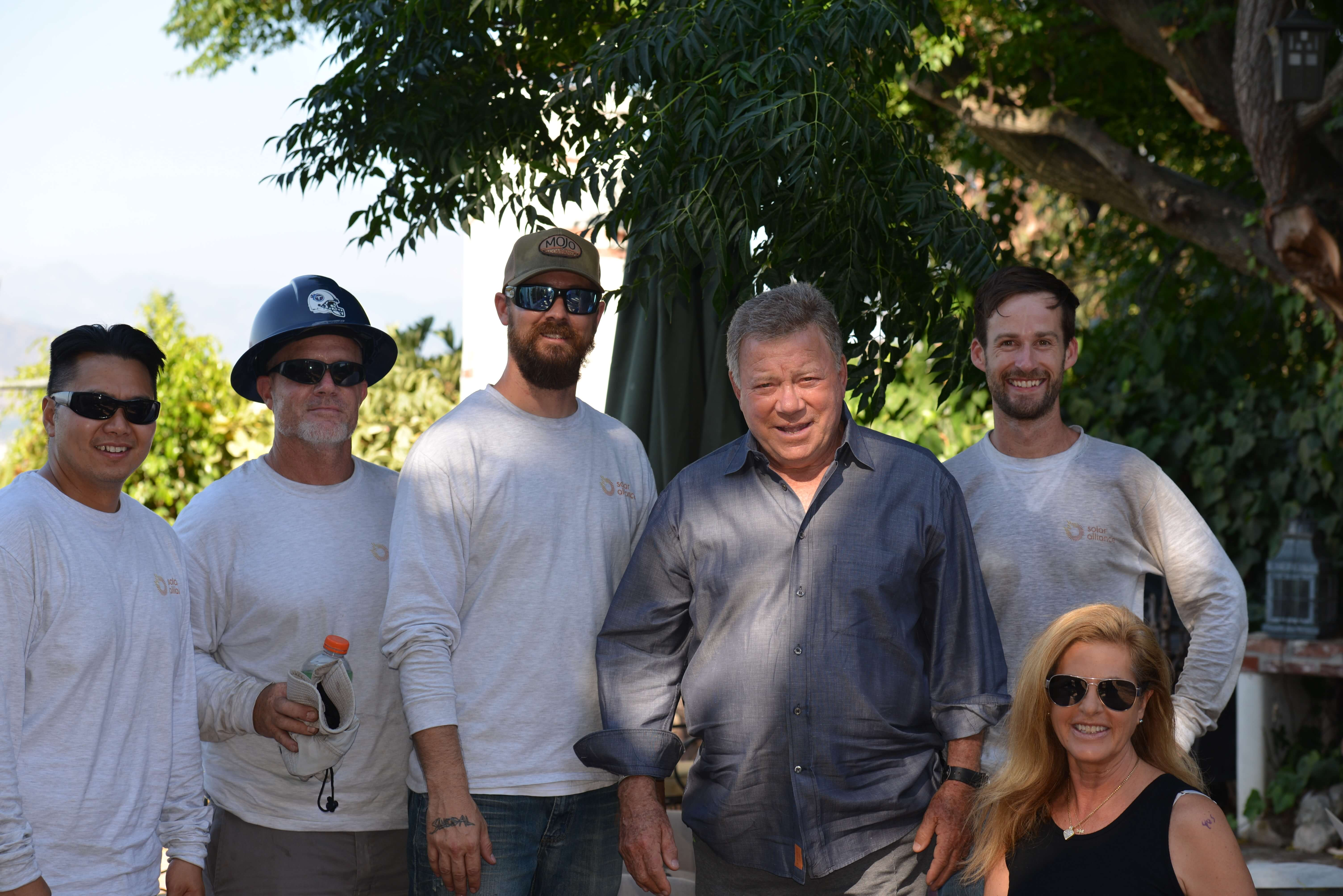 Solar-Alliance Iconic Actor William Shatner Installs Solar At L.A. Home