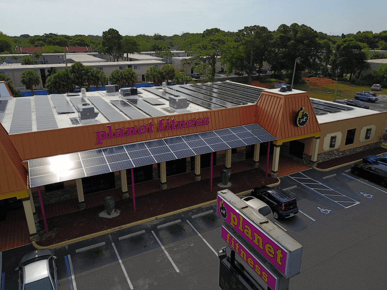 solar-planet-fitness Planet Fitness Powers Florida Facility With Rooftop Solar Project