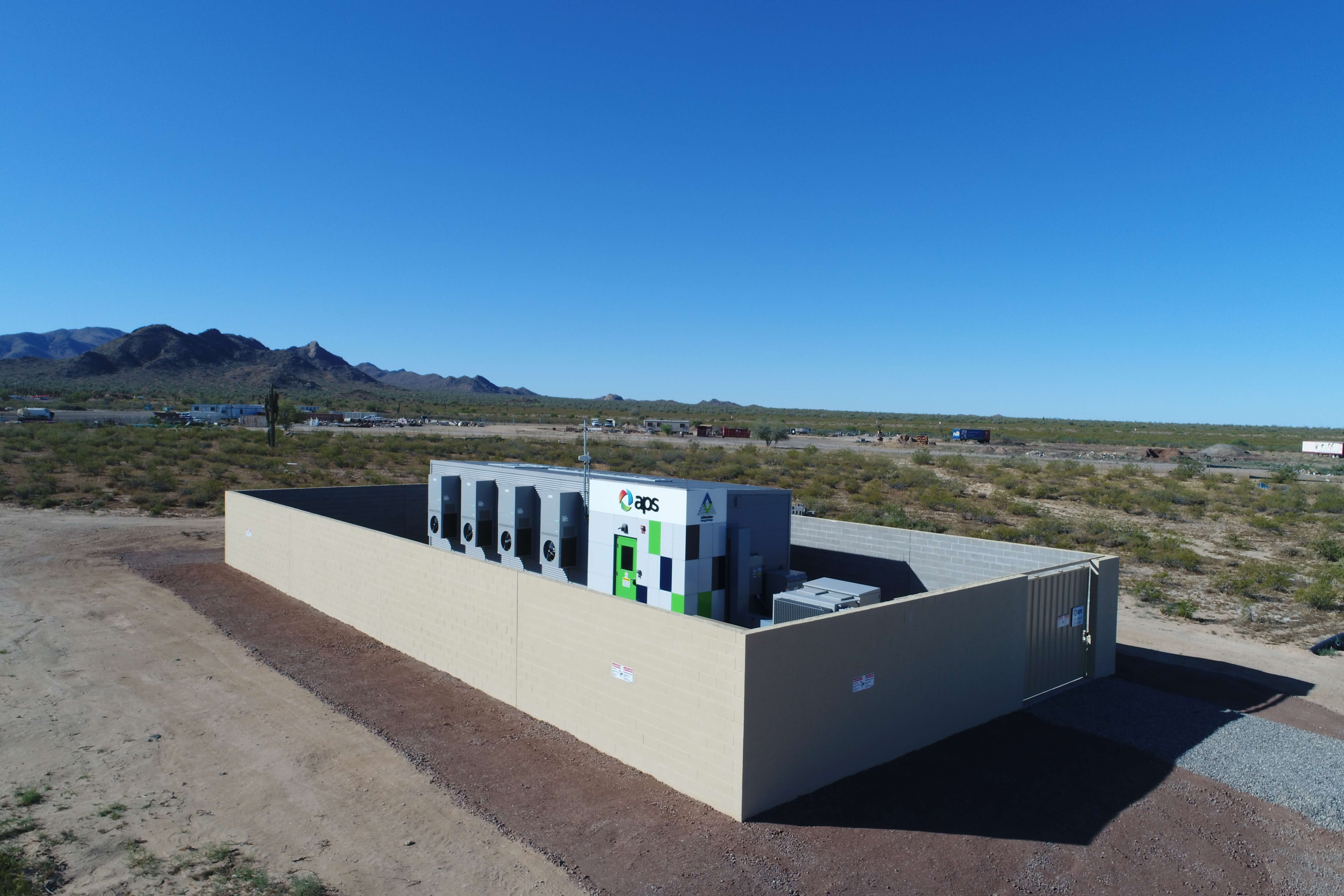 APS Utility APS Chooses Battery Storage Over Traditional T&D
