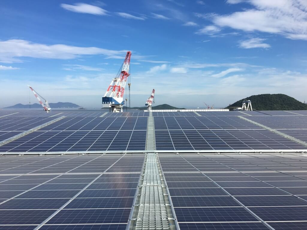 asian-clean-capital Massive BIPV Project Completed At Chinese Shipyard