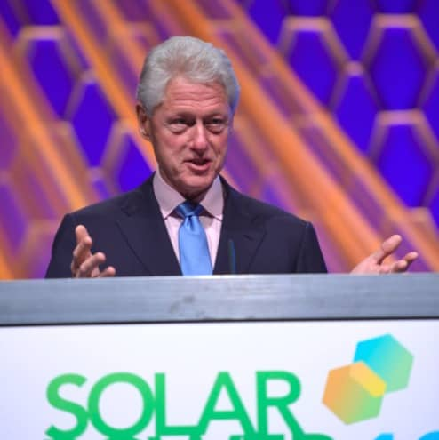 Clinton At Solar Power International: 'You're Going To Win This Battle'