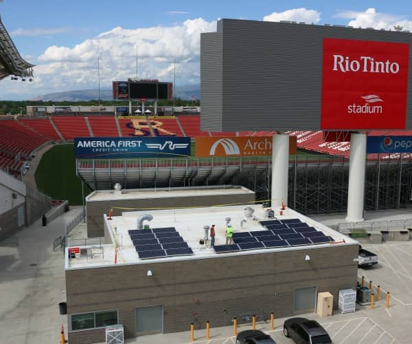 REC Group Supplies 2 MW Solar Project At Rio Tinto Stadium In Utah