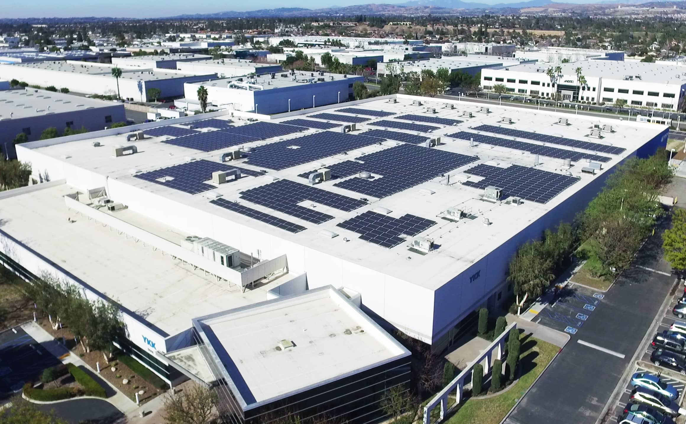 zipper manufacturer adds solar to anaheim facility solar. Black Bedroom Furniture Sets. Home Design Ideas