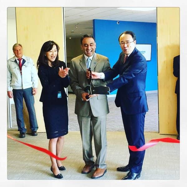 Tabuchi-HQ Tabuchi Electric Opens North American Headquarters