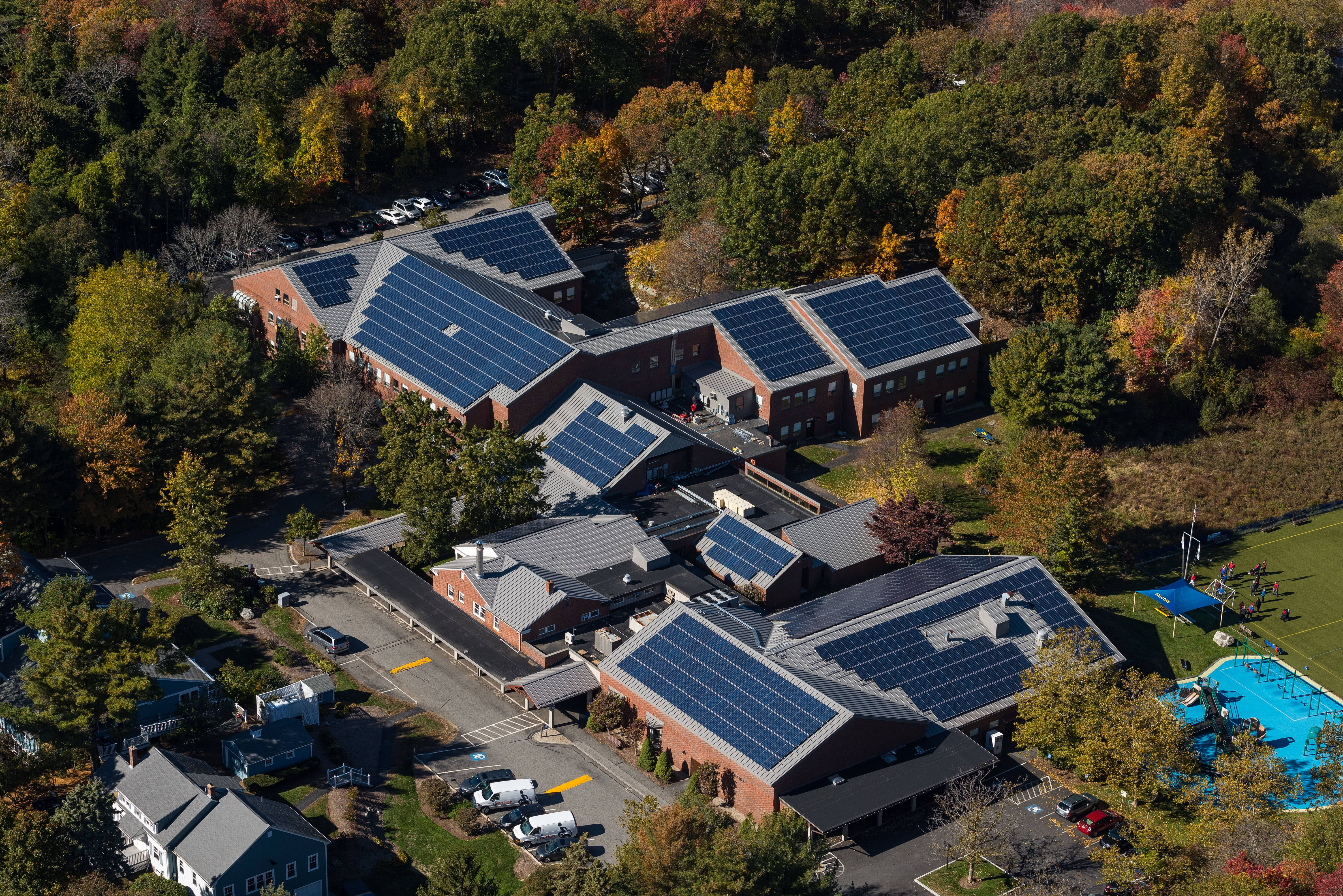 Igs Completes Solar Project For Cotting School Solar