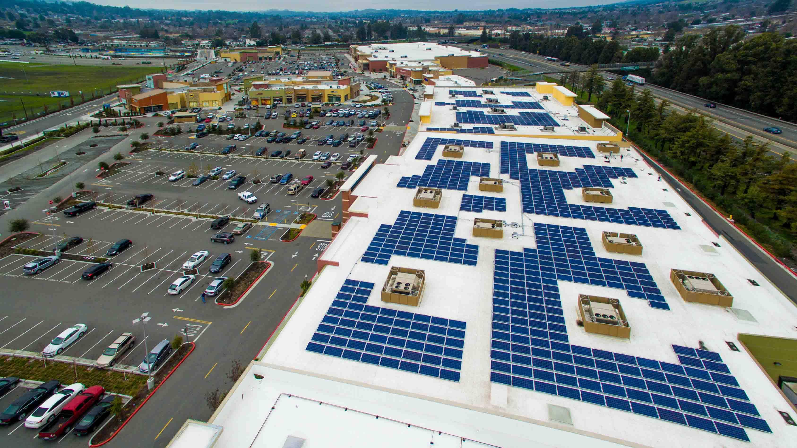 Regency Regency Centers Adds Rooftop Solar In California