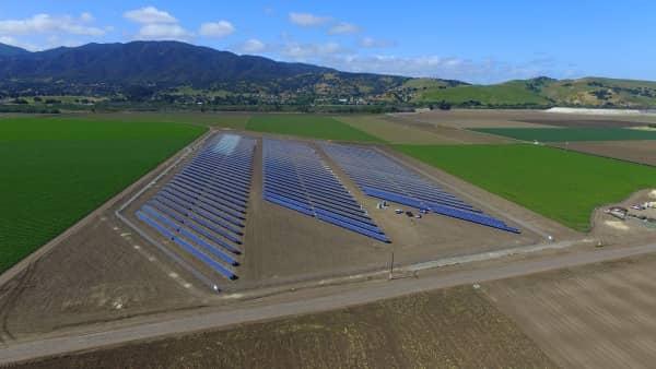 CalCom CalCom Installs 2.2 MW Solar Project For Calif. Fruit, Vegetable Grower
