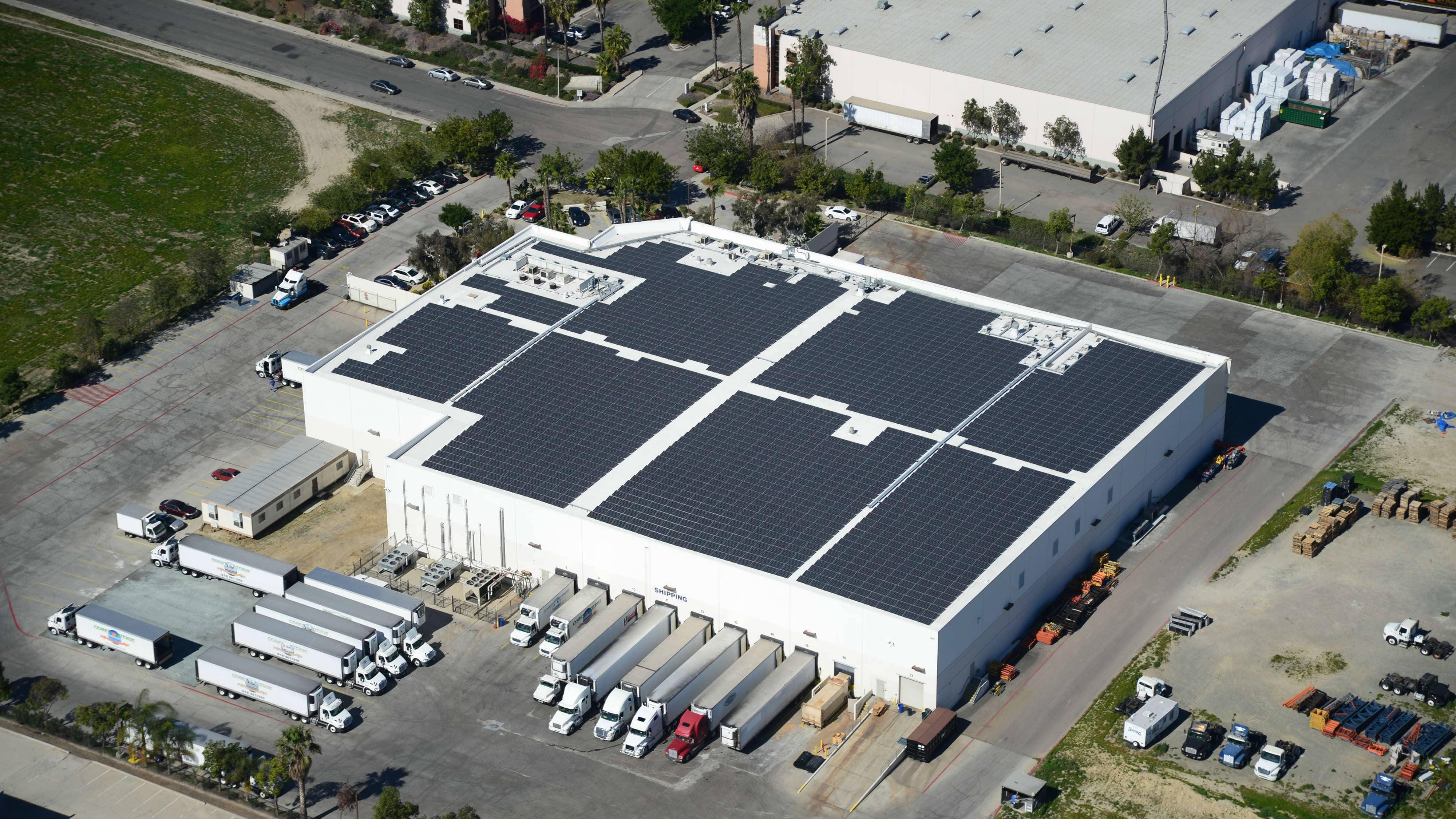 Coast Citrus Distributors Adds Rooftop Solar At San Diego