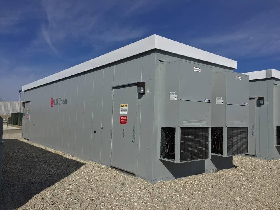 LG LG Chem Batteries Power Large Storage System In Ohio