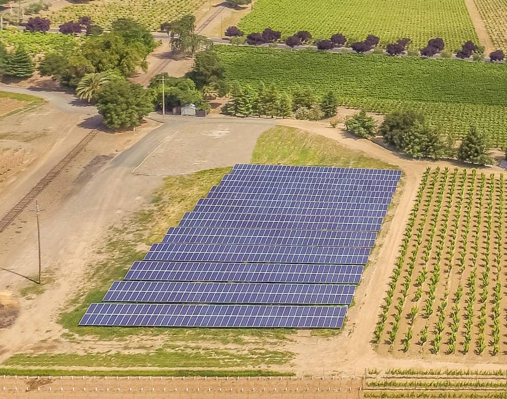 Trentadue2_Crop California Winery Calls Solar Project 'A Good Investment'
