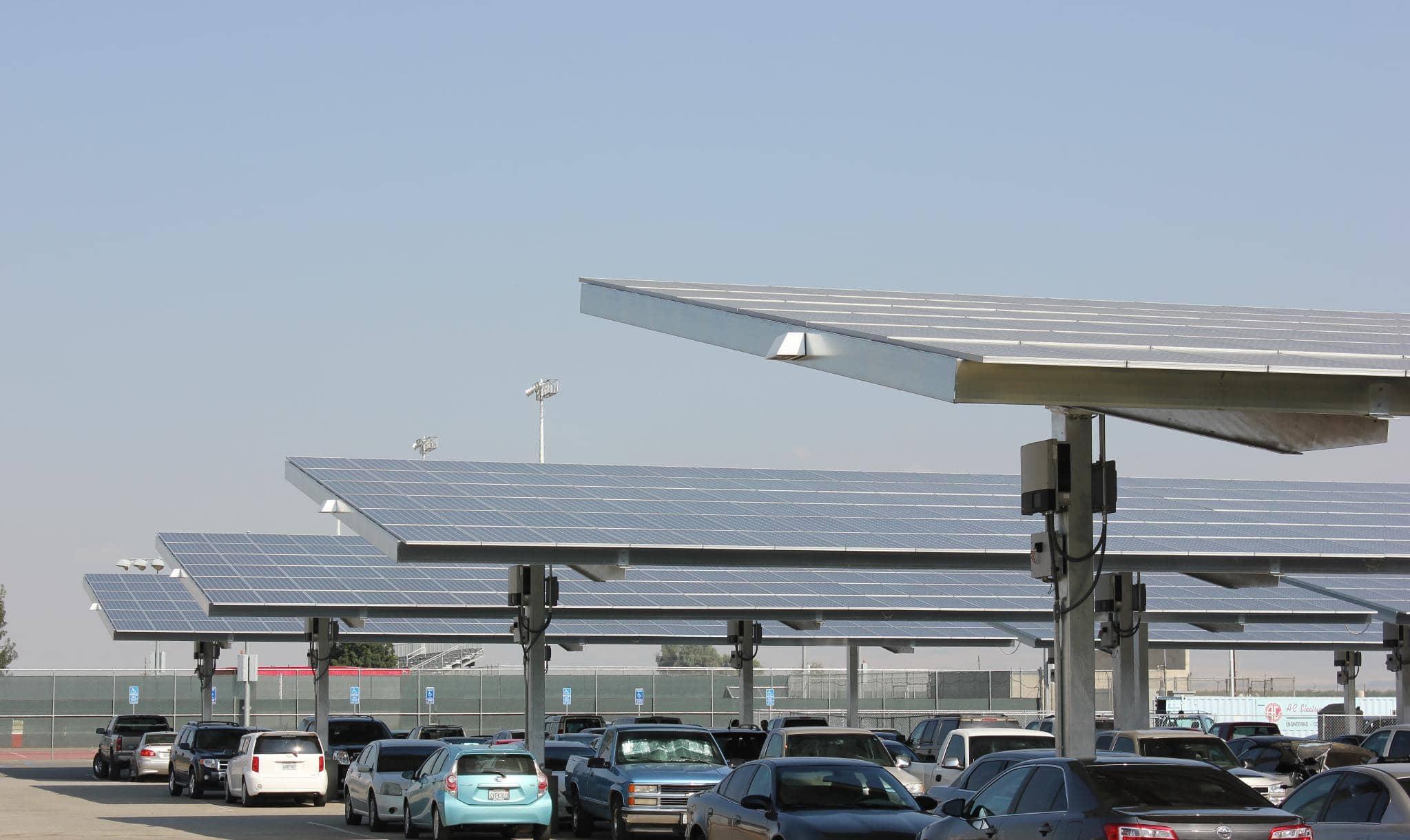 sunpower-2 SunPower And University Partner On 4 MW Of Solar Carports