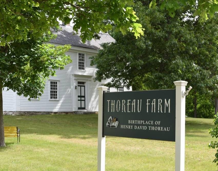 th-1 Historic Birthplace Of Henry David Thoreau Adds Solar