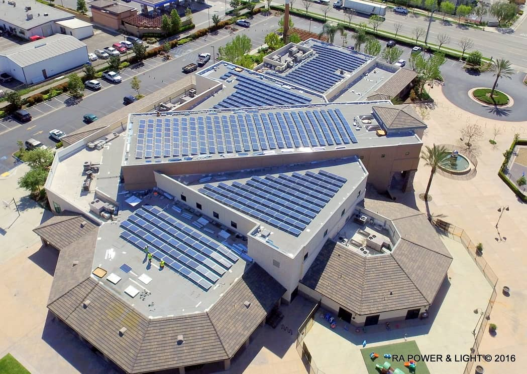 CrossPoint-Church California Church Deems Rooftop Solar 'The Right Choice'