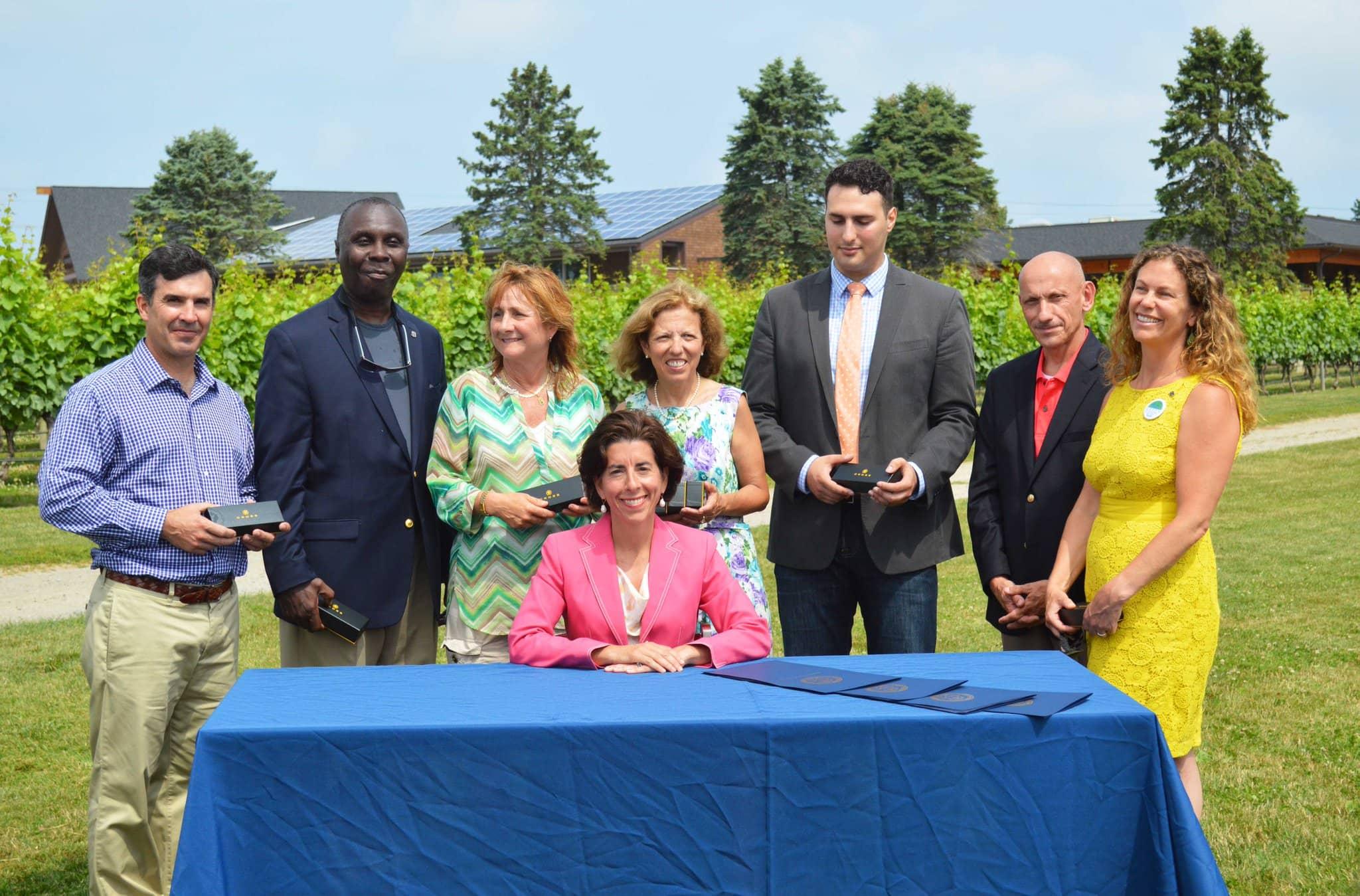 rhode-island Rhode Island Gov. Signs Package Of Renewable Energy Bills