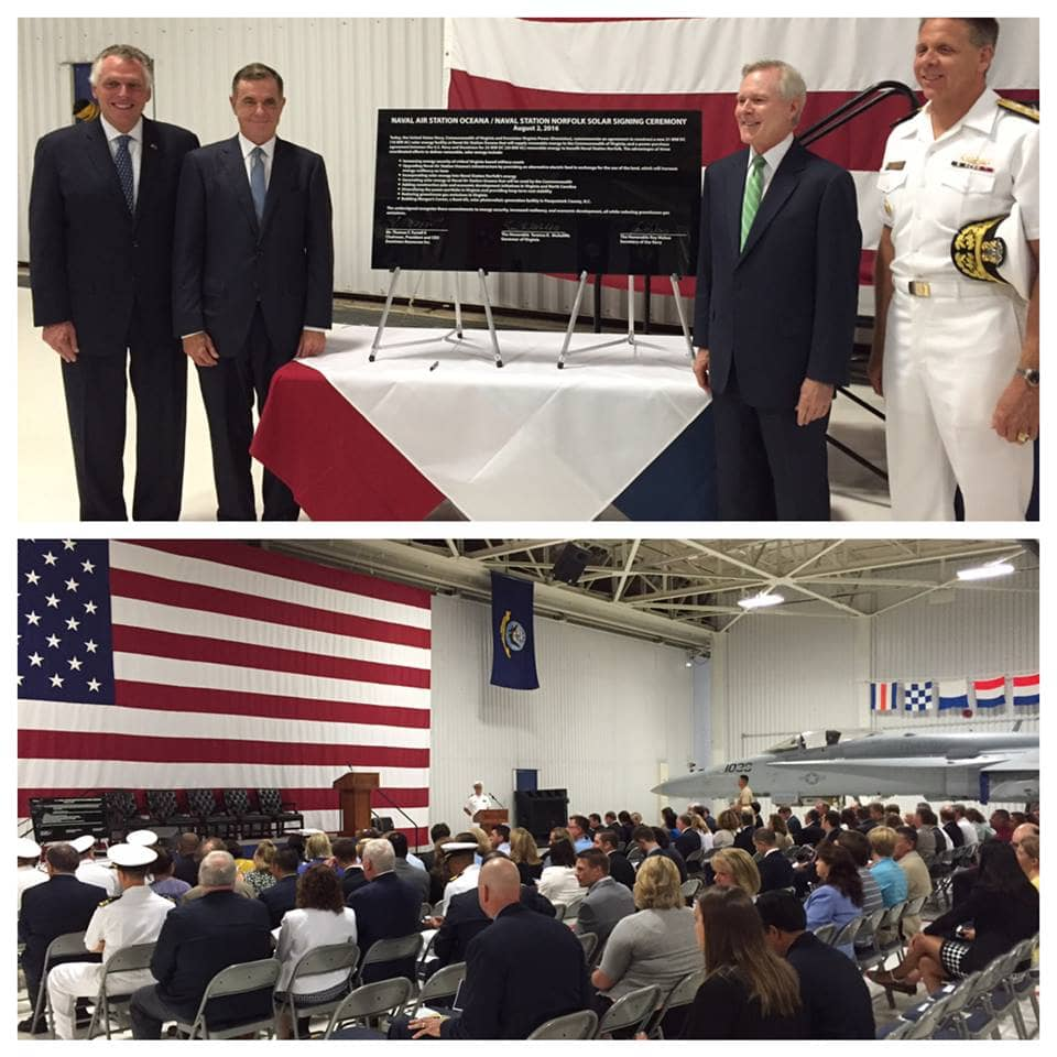 navy Virginia Naval Base Will Host 21 MW Solar Project