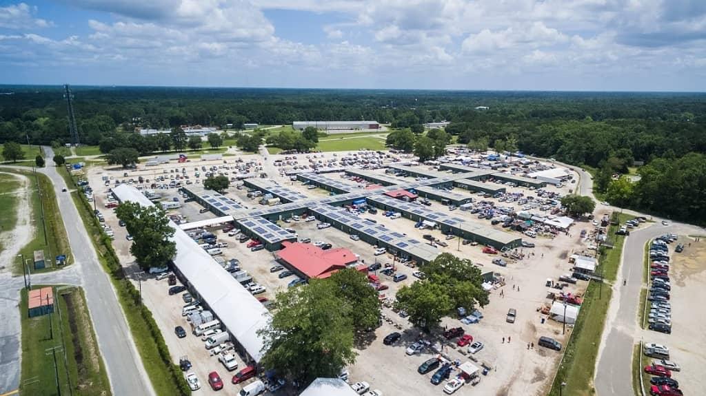 Flea-Market Solar Powers Flea Market In South Carolina