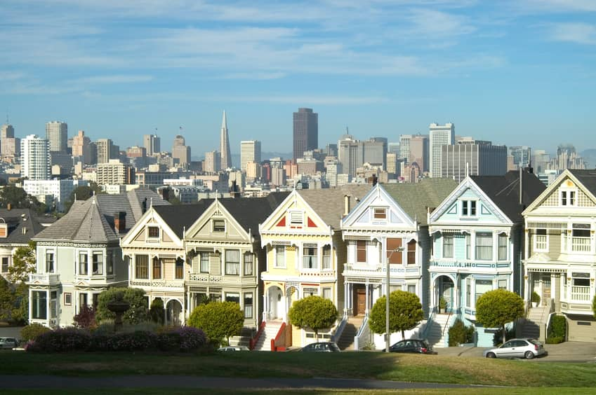 Solar Comes To San Francisco Painted Lady Home Solar Industry