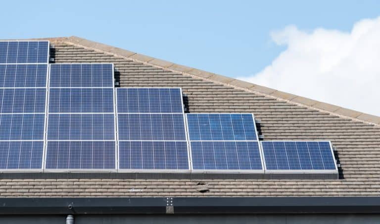 more solar panels affixed at govt