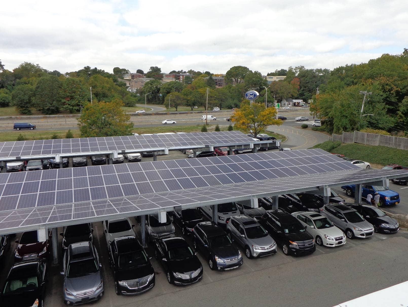 Auto-Dealership New York Auto Dealer Goes Fully Solar