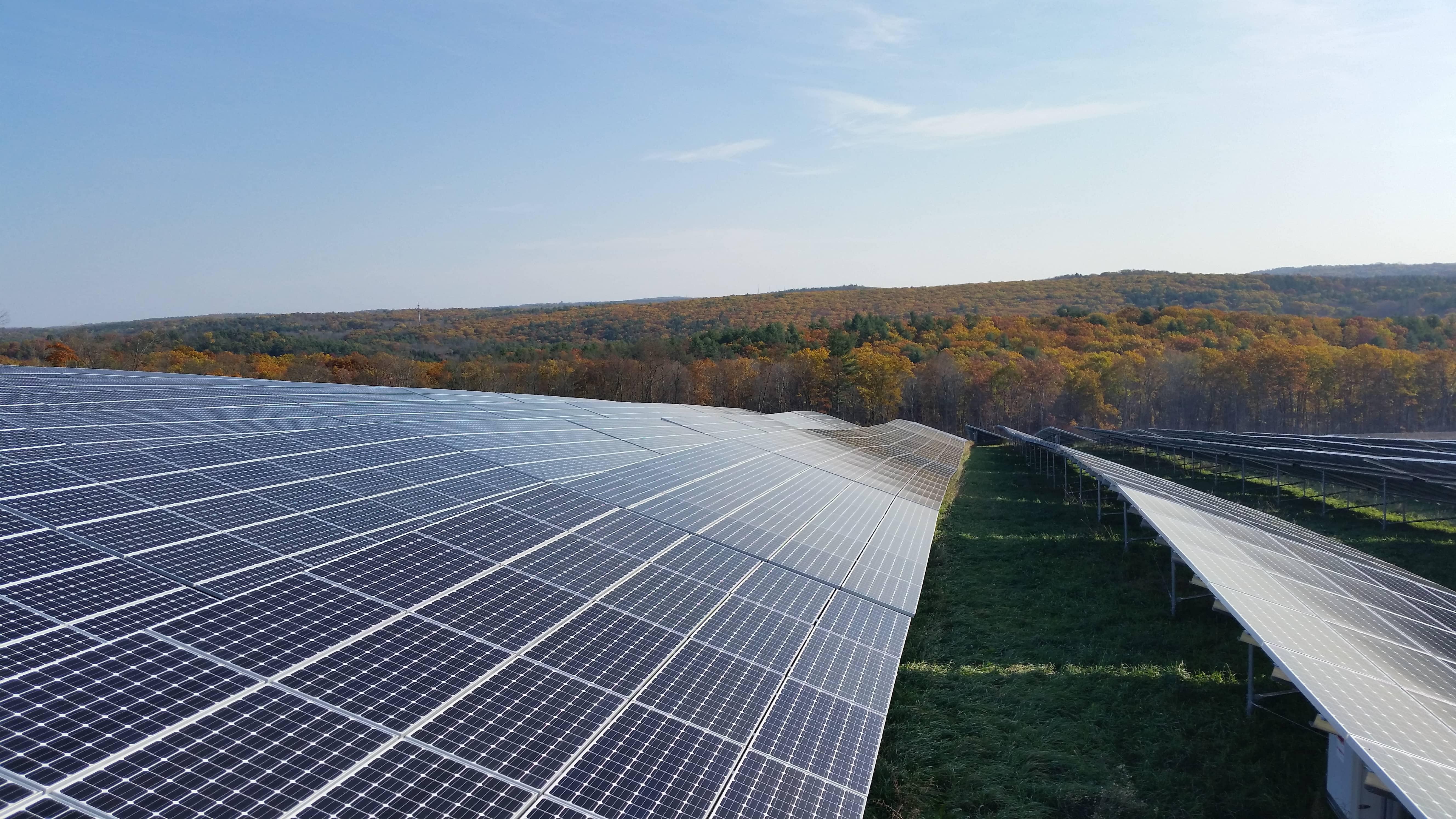 NRG NRG Flips The Switch On Massachusetts Community Solar Project