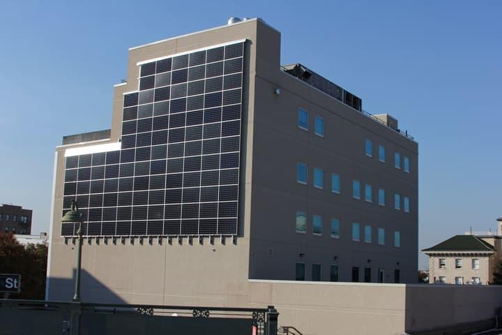 Quixotic_Systems_Solar_Wall Health Provider Adds 'Solar Wall' On Bronx Building