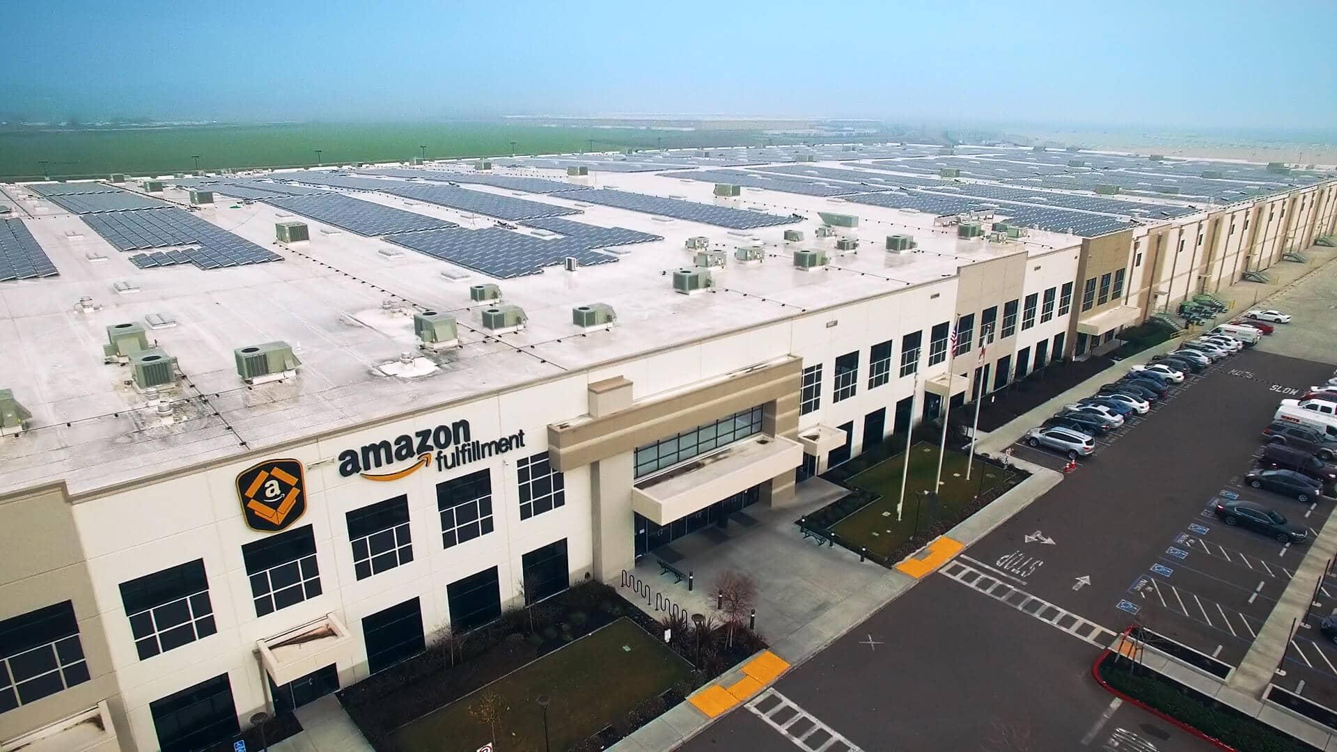 Amazon Amazon Launches Global Rooftop Solar Initiative