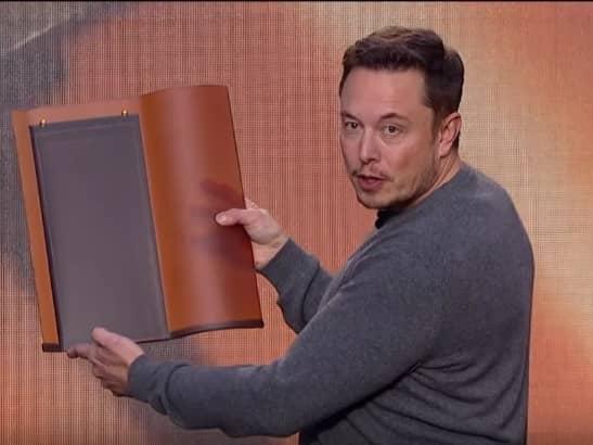 Musk-2 Elon Musk: Tesla Will Start Taking Solar Roof Tile Orders In April