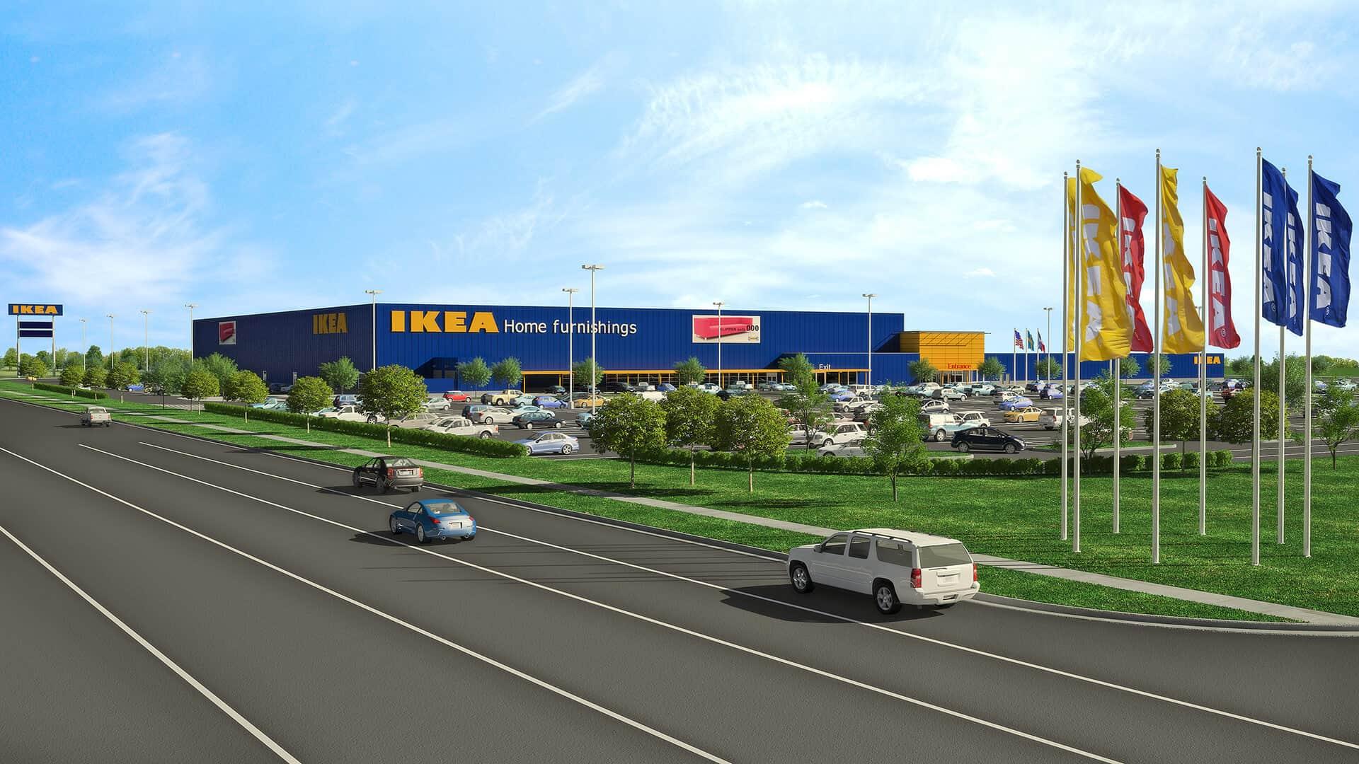 IKEA IKEA To Install 1.25 MW Solar Array Atop Future Grand Prairie Store