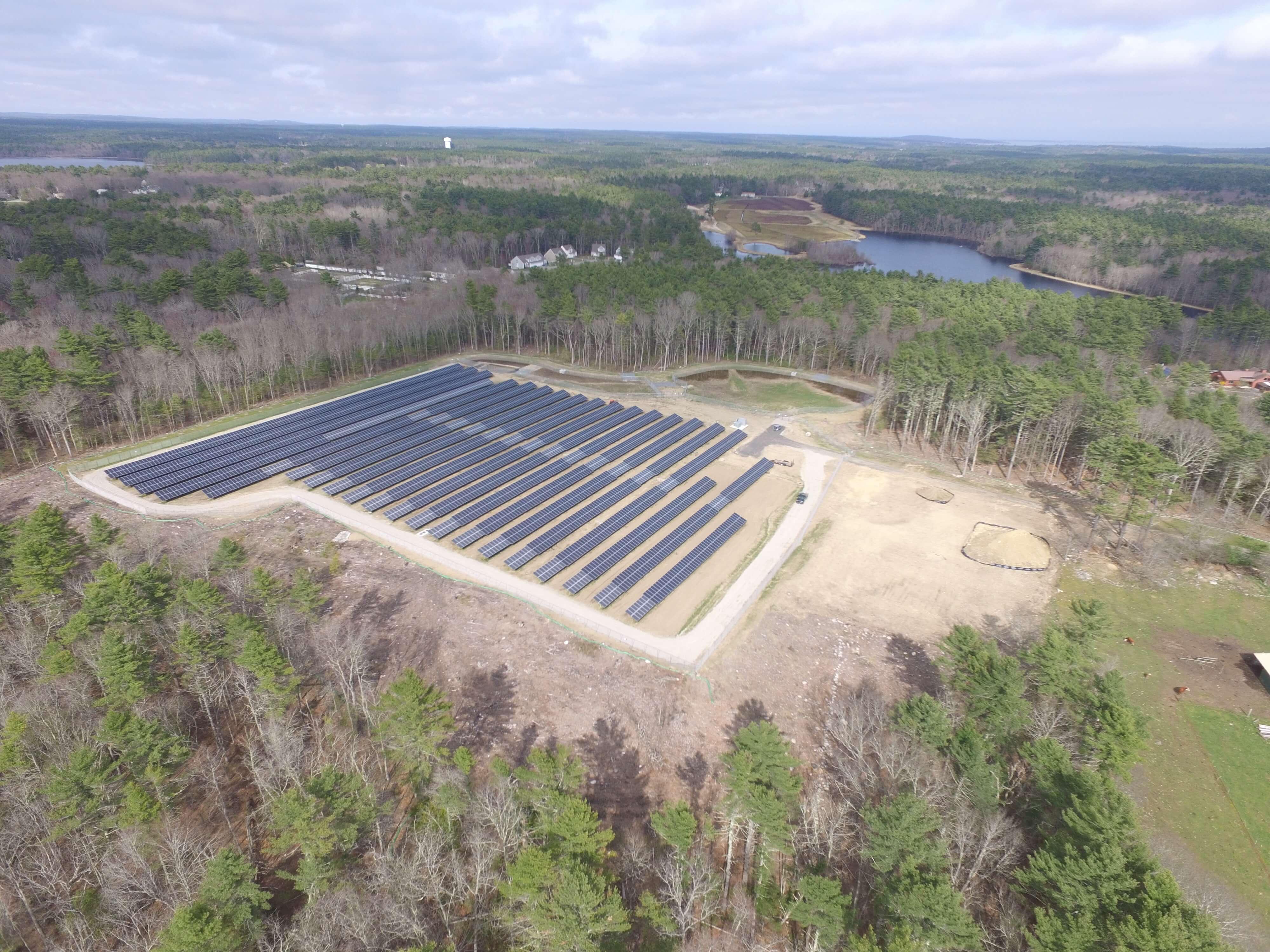 Bluewave Massachusetts Community Solar Project Goes Online