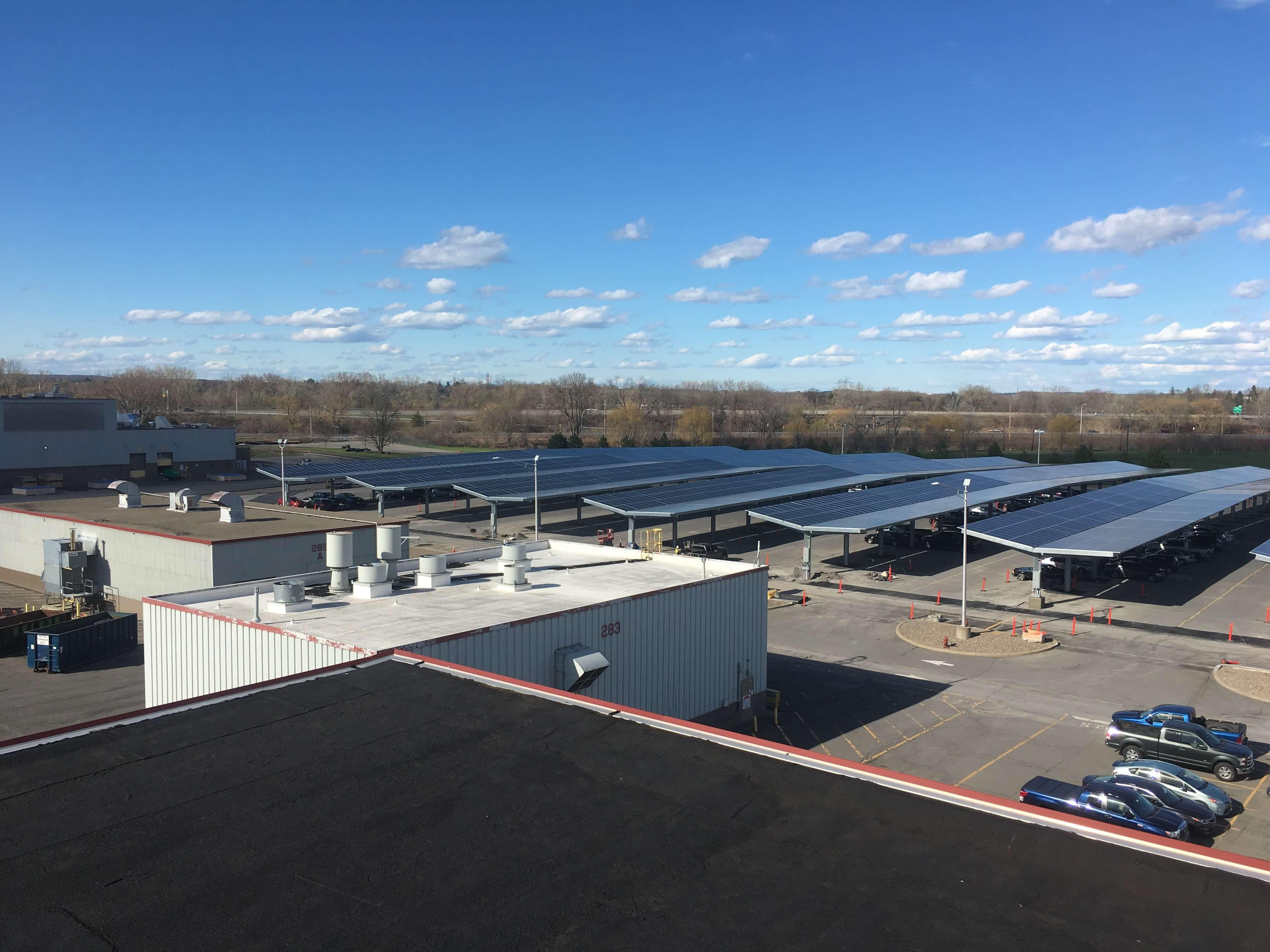 GE-1 GE Installs 2.26 MW Solar Carport At Upstate New York Campus