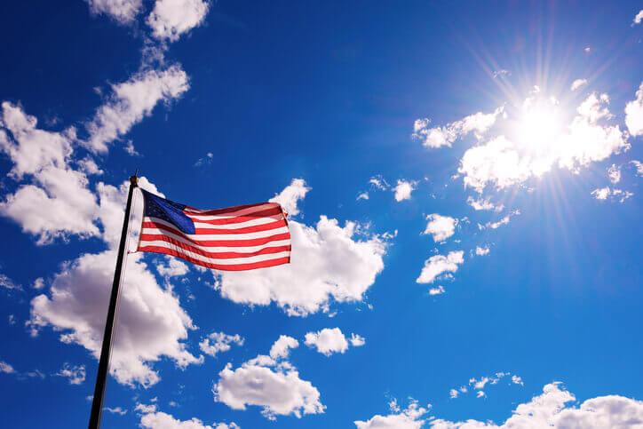 American-Flag-Solar-1 Mayors Throw Support Behind 100% Renewable Energy