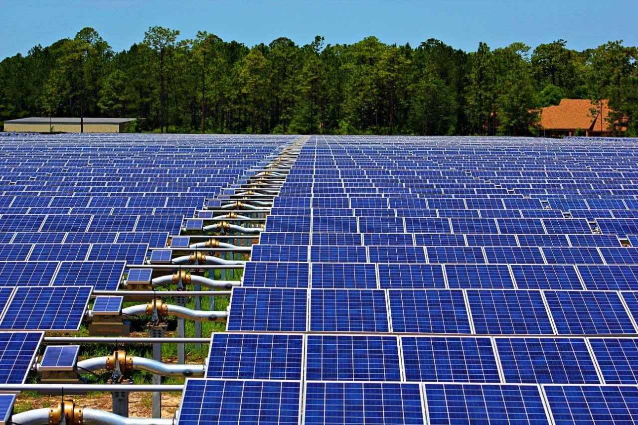 Partners complete utility scale solar farm in jacksonville for Solar ranch