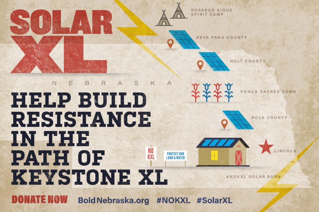 Solar-XL-1 Groups Launch 'Solar XL' Campaign Against Keystone XL Pipeline