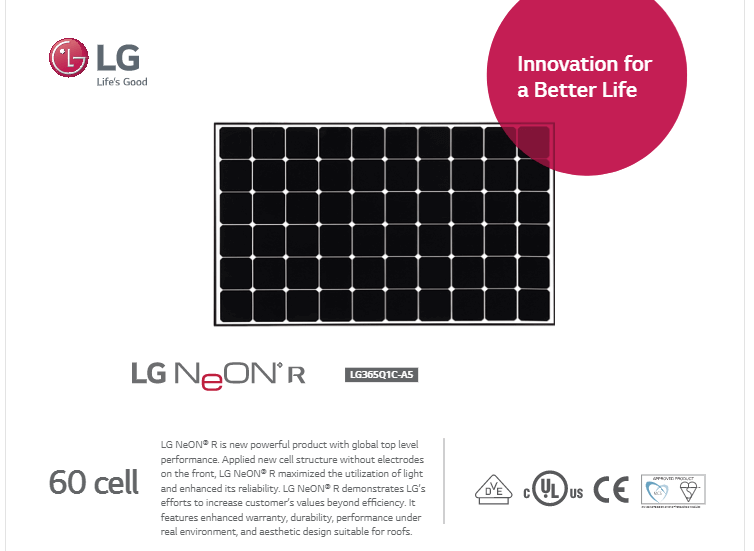 Lg Solar Panels With Micro Inverters