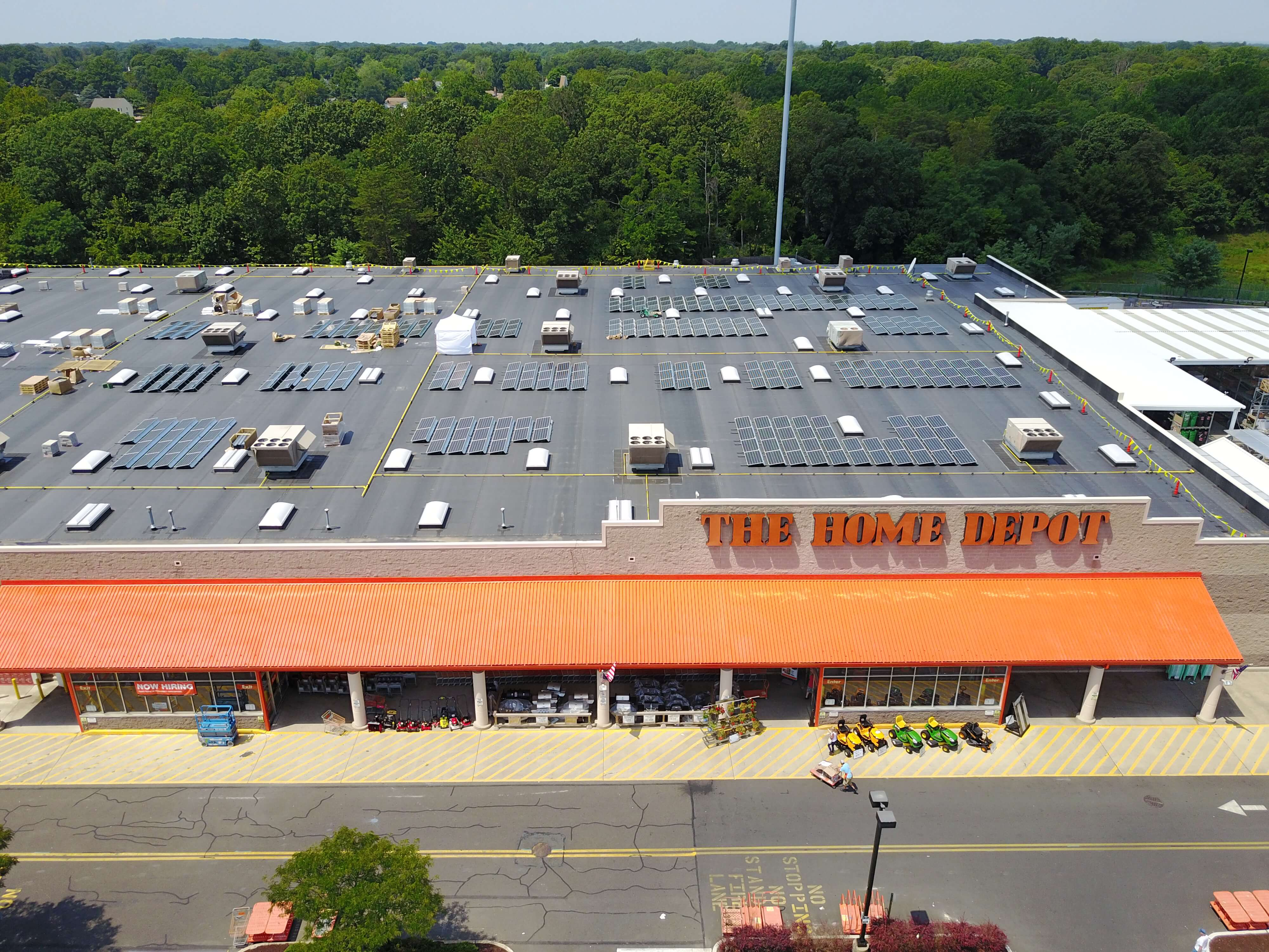 The Home Depot Adding Rooftop Solar Across The US Solar Industry