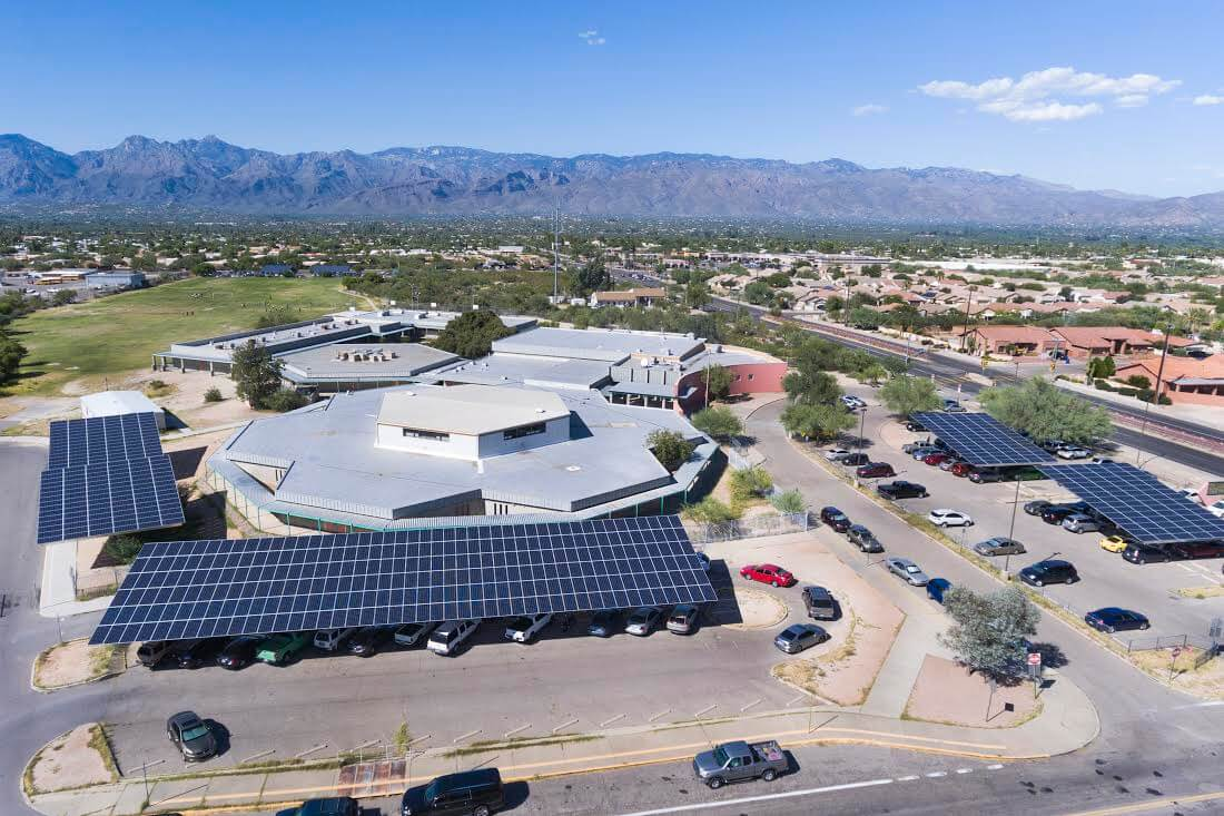 New Solar Projects To Provide Nearly Half Of Tucson School