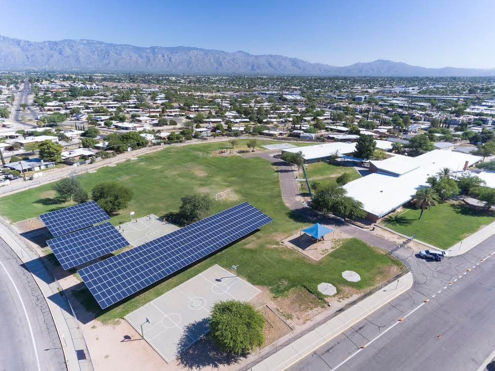 New Solar Projects To Provide Nearly Half Of Tucson School District's Power