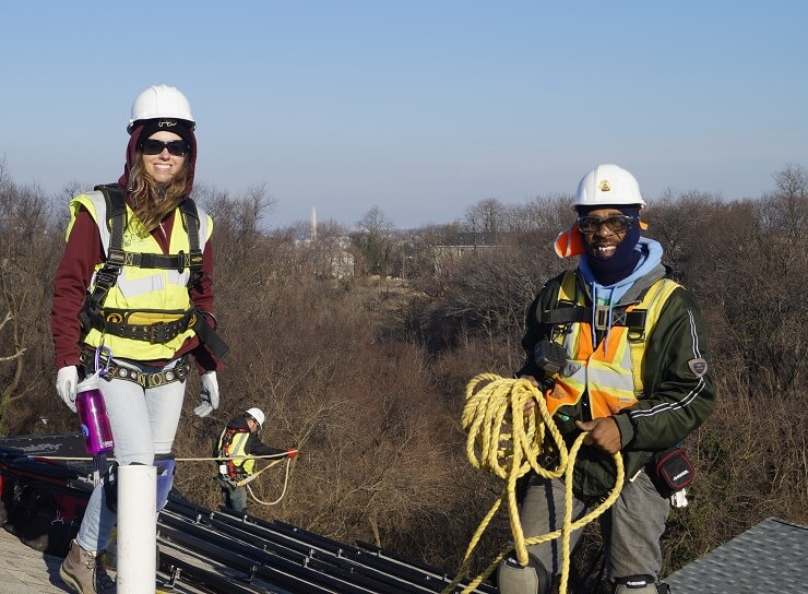 GRID Trains Nation's Capital For A Bright Future In Solar Jobs