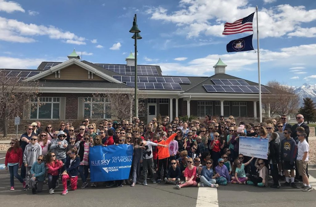 Bluffdale City solar