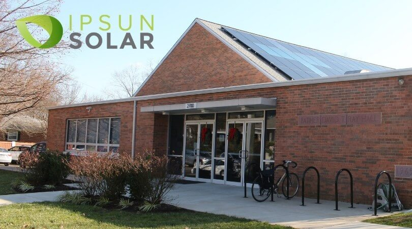 Arlington Church Installs Cross-Shaped Solar