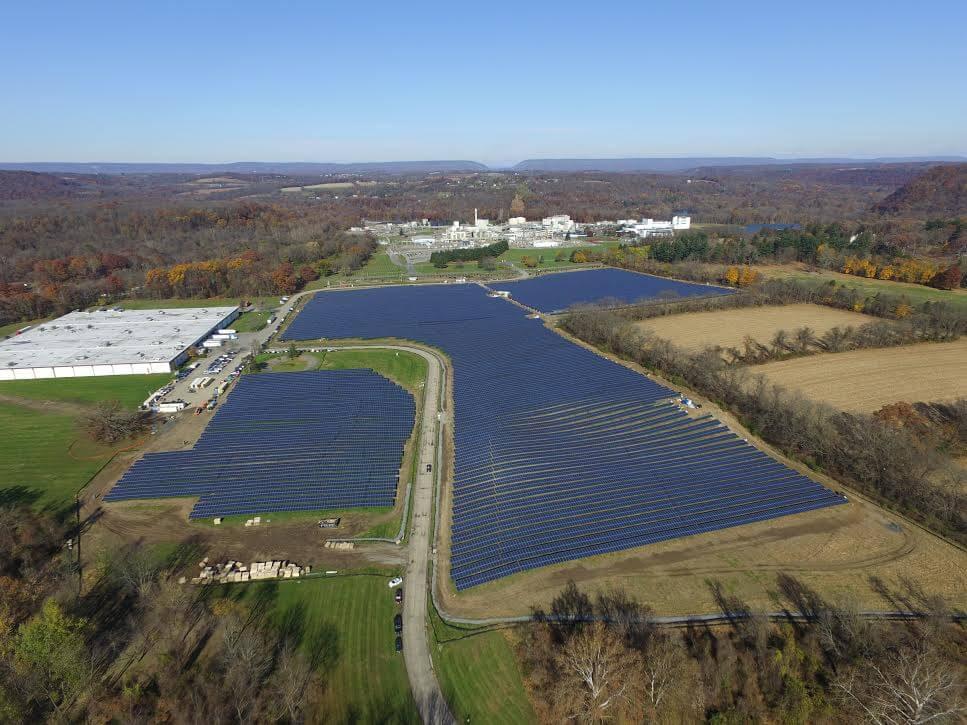Solar Field In Belvidere, N.J.