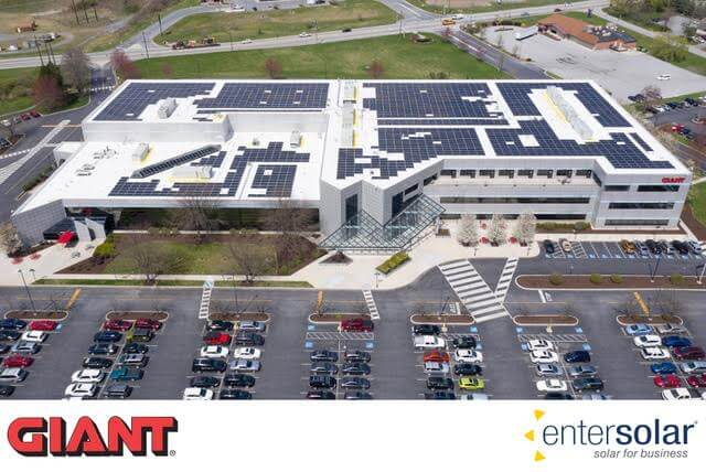 GIANT Food Stores Welcomes Solar At Pennsylvania Office - Solar Industry