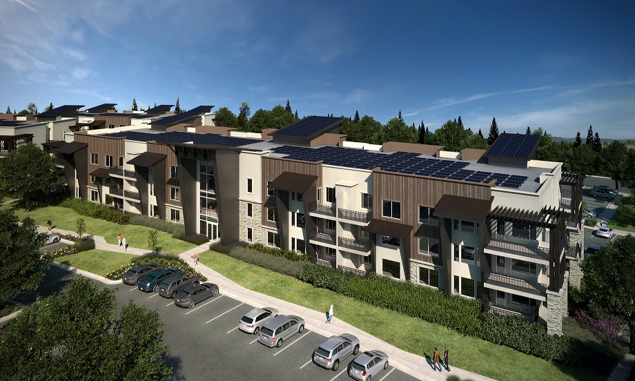 Utah apartment solar