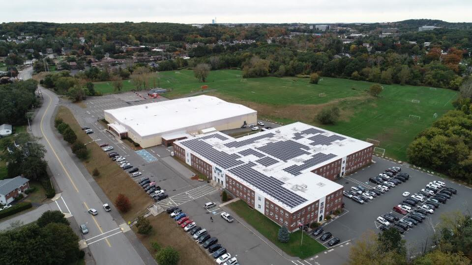 Massachusetts Middle School Cuts Costs With Solar